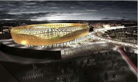 Baltic Arena Gdansk, fotbolls EM 2012