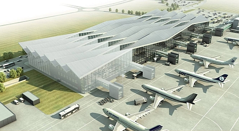 gdansk airport new terminal